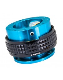 NRG Quick Release Kit - Pyramid Edition - New Blue Body / Black Pyramid Ring