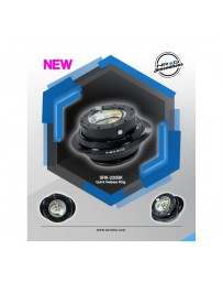 NRG Quick Release Gen 2.2 - Black Body / Shiny Black Oval Ring