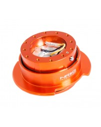 NRG Quick Release Kit Gen 2.5 - Orange Body / Titanium Chrome Ring