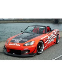 ChargeSpeed 00-09 S2000 Super GT Wide Body Kit (8PC)