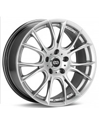 Enkei Ammodo 17x7.5 42mm Offset 4x100 Bolt Pattern 72.6 Bore Diameter Hyper Silver Wheel