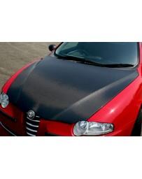 ChargeSpeed 00-04 Alfa Romeo 147 OEM Carbon Hood