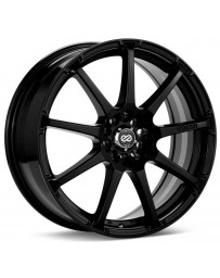Enkei EDR9 17x7 5x100 38mm offset 72.6 Bore Diameter Matte Black Wheel
