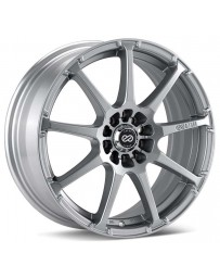 Enkei EDR9 17x7 4x100/108 38mm Offset 72.6 Bore Diameter Silver Wheel