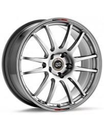 Enkei GTC01 18x8.5 5x114.3 35mm Offset 75mm Bore Hyper Black Wheel Evo 8/9 G35/350z