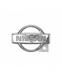 Nissan OEM Trunk Emblem, Mid - Nissan Skyline R34 GT-R GTT