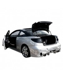 VIS Racing 1997-2000 Saturn Sc1 Sc2 2Dr Evo 5 Rear Bumper