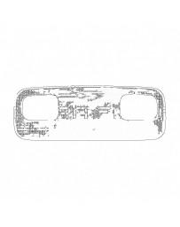 Nissan OEM Spot Light Lens - Nissan Skyline R32 / R33 GT-R/GTS R34 GT-R GTT