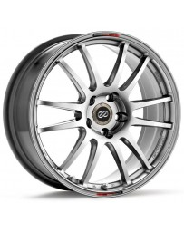 Enkei GTC01 17x7 4x100 50mm Offset 75mm Bore Hyper Black Wheel