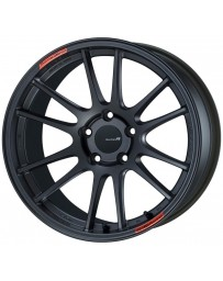 Enkei GTC01RR 18x9.5 5x114.3 35mm Offset Matte Gunmetallic Wheel *Will not fit STI*