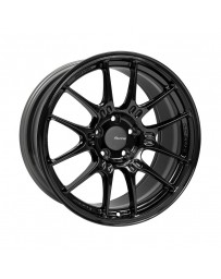 Enkei GTC02 18x9.5 5x114.3 40mm Offset 75mm Bore Gloss Black Wheel