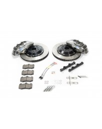 R35 GT-R Alcon 412x36mm Rotor Grey 6 Piston Caliper RC6 Front Axle Kit