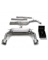 ARMYTRIX Stainless Steel Valvetronic Catback Exhaust System Dual Chrome Silver Tips Audi RS3 8V 2.5L Turbo Sportback 2015-2020