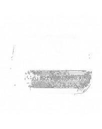 Nissan OEM Map Lens For Sunroof - Nissan Skyline R32 / R33 GTS