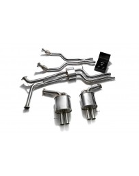 ARMYTRIX Stainless Steel Valvetronic Catback Exhaust System Audi S6 Avant S7 RS6 RS7 C7 4.0 TFSI V8 2014-2020