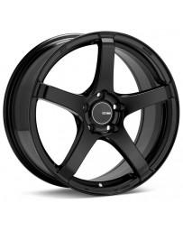 Enkei Kojin 18x8.5 45mm Offset 5x100 Bolt Pattern 72.6mm Bore Dia Matte Black Wheel