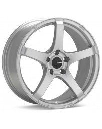 Enkei Kojin 18x9.5 15mm Offset 5x114.3 Bolt Pattern 72.6mm Bore Dia Matte Silver Wheel