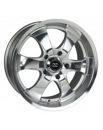Enkei M6 Universal Truck & SUV 17x8 35mm Offset 6x139.7 Bolt Pattern 78mm Bore Mirror Finish Wheel