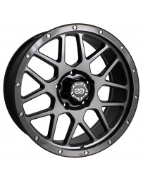 Enkei Matrix 20x9 6x139.7 0mm Offset 108mm Bore Gunmetal Wheel