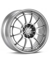 Enkei NT03 17x7.5 4x100 40mm Offset 72.6mm Bore Silver Wheel Miata / 02-06 Mini