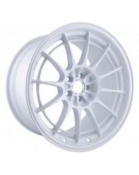 Enkei NT03+M 18x9.5 5x114.3 40mm Offset 72.6mm Bore Vanquish White Wheel (MOQ of 40)