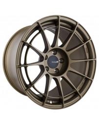 Enkei NT03RR 18x10.5 5x114.3 15mm Offset 75mm Bore Titanium Gold Wheel