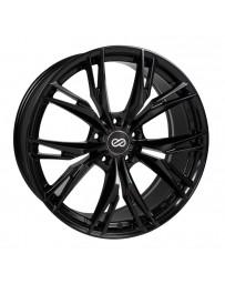 Enkei ONX 17x7.5 45mm Offset 5x100 Bolt Pattern 72.6 Bore Dia Black Wheel