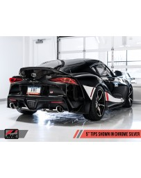 Toyota Supra GR A90 MK5 AWE Tuning Track-to-Resonated Touring Conversion Kit (Rear Section Only)