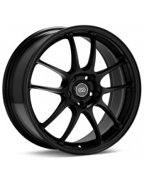 Enkei PF01 17x8 5x114.3 50mm offset Black Wheel