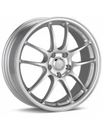 Enkei PF01 18x8 5x120 42mm Offset Silver Wheel