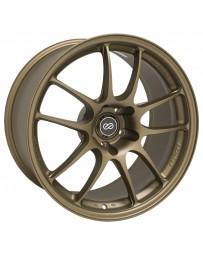 Enkei PF01 18x9.5 5x114.3 15mm Offset 75mm Bore Titanium Gold Wheel