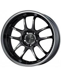 Enkei PF01EVO 18x9.5 35mm Offset 5x114.3 75mm Bore Matte Black Wheel (Min Order Qty. 40)