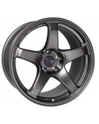 Enkei PF05 18x8 5x114.3 45mm Offset 75mm Bore Dark Silver Wheel