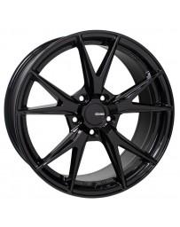 Enkei Phoenix 17x7.5 45mm Offset 5x114.3 72.6mm Bore Gloss Black Wheel