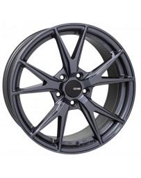 Enkei Phoenix 18x8 35mm Offset 5x120 72.6mm Bore Blue Gunmetal Wheel