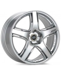 Enkei RP05 17x8 5x114.3 35mm Offset 75mm Bore Silver Wheel Evo 8/9 *SPECIAL ORDER NO CANCELLATIONS*