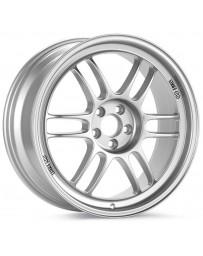 Enkei RPF1 17x8 5x114.3 45mm Offset 73mm Bore Silver Wheel 05-07 STI/06-10 Civic Si