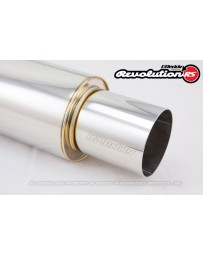 GReddy Revolution RS Universal 2.5inch Muffler and Tip Set