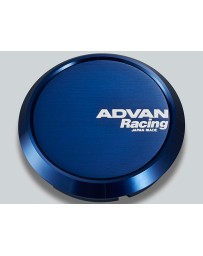 Advan Racing 73mm Flat Centercap - Blue Anodized