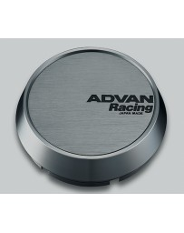 Advan Racing 73mm Middle Centercap - Hyper Black