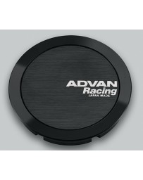 Advan Racing 73mm Full Flat Centercap - Black