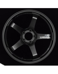Advan GT 20x11.0 +15 5-114.3 Semi Gloss Black Wheel