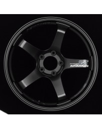 Advan Racing GT 18x10.5 +24 5-114.3 Semi Gloss Black Wheel
