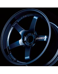 Advan Racing GT Premium Version 21x10.5 +24 5-114.3 Racing Titanium Blue Wheel