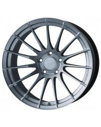 Enkei RS05-RR 18x10.5 23mm ET 5x120 72.5 Bore Sparkle Silver Wheel Spcl Order / No Cancel