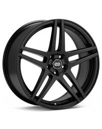 Enkei RSF5 17x7.5 50mm Offset 5x114.3 Bolt Pattern 72.6mm Bore Dia Matte Black Wheel