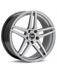 Enkei RSF5 16x7 38mm Offset 5x114.3 Bolt Pattern Hyper Silver Wheel