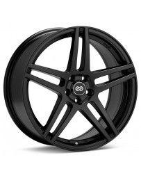 Enkei RSF5 15x6.5 38mm Offset 4x100 Bolt Pattern 72.6mm Bore Dia Black Wheel
