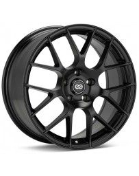 Enkei Raijin 18x8.5 50mm Offset 5x114.3 Bolt Pattern 72.6 Bore Diameter Matte Black Wheel