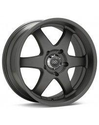 Enkei ST6 18x8.5 20mm Offset 5x127 Bolt Pattern 71.6 Bore Dia Matte Gunmetal Wheel